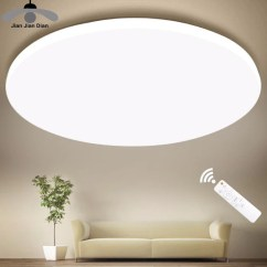 Led Ceiling Light Living Room Ceramic Tile Flooring Pictures Ultra Thin Lighting Fixture Modern Lamp Bedroom Kitchen