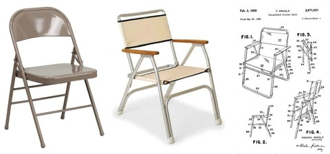 chair design patent tulip table and chairs nz sitting on history what s behind today 15 most ubiquitous right image fredrick arnold for aluminum folding 1956