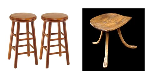 wood stool chair design rocking egg australia sitting on history what s behind today 15 most ubiquitous chairs right image wooden from thebes egypt 18th dynasty