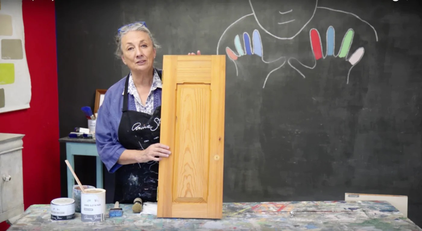 How To Paint Your Kitchen Cabinets With Annie Sloan Chalk