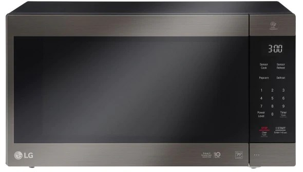 lg lmc2075bd 2 0 cu ft neochef countertop microwave with smart inverter and easyclean in stainless steel