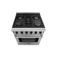 Kitchen Ranges Gas Roll Cling Film Tin Foil Dispenser Thor Lrg3001u 30 Inch Professional Range Topchoice Electronics