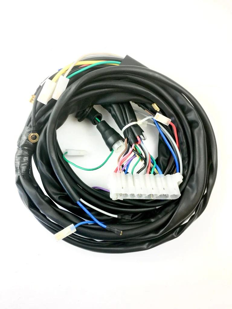 medium resolution of vespa wiring loom vespa with lambretta headset no indicato beedspeed