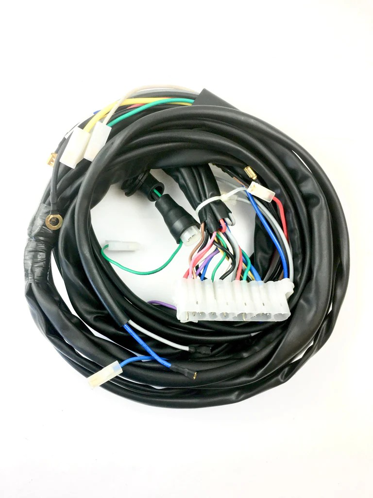hight resolution of vespa wiring loom vespa with lambretta headset no indicato beedspeed