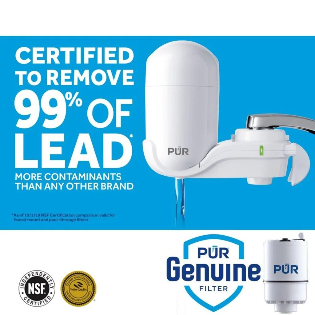 2 stage pur faucet filter fm 3333b