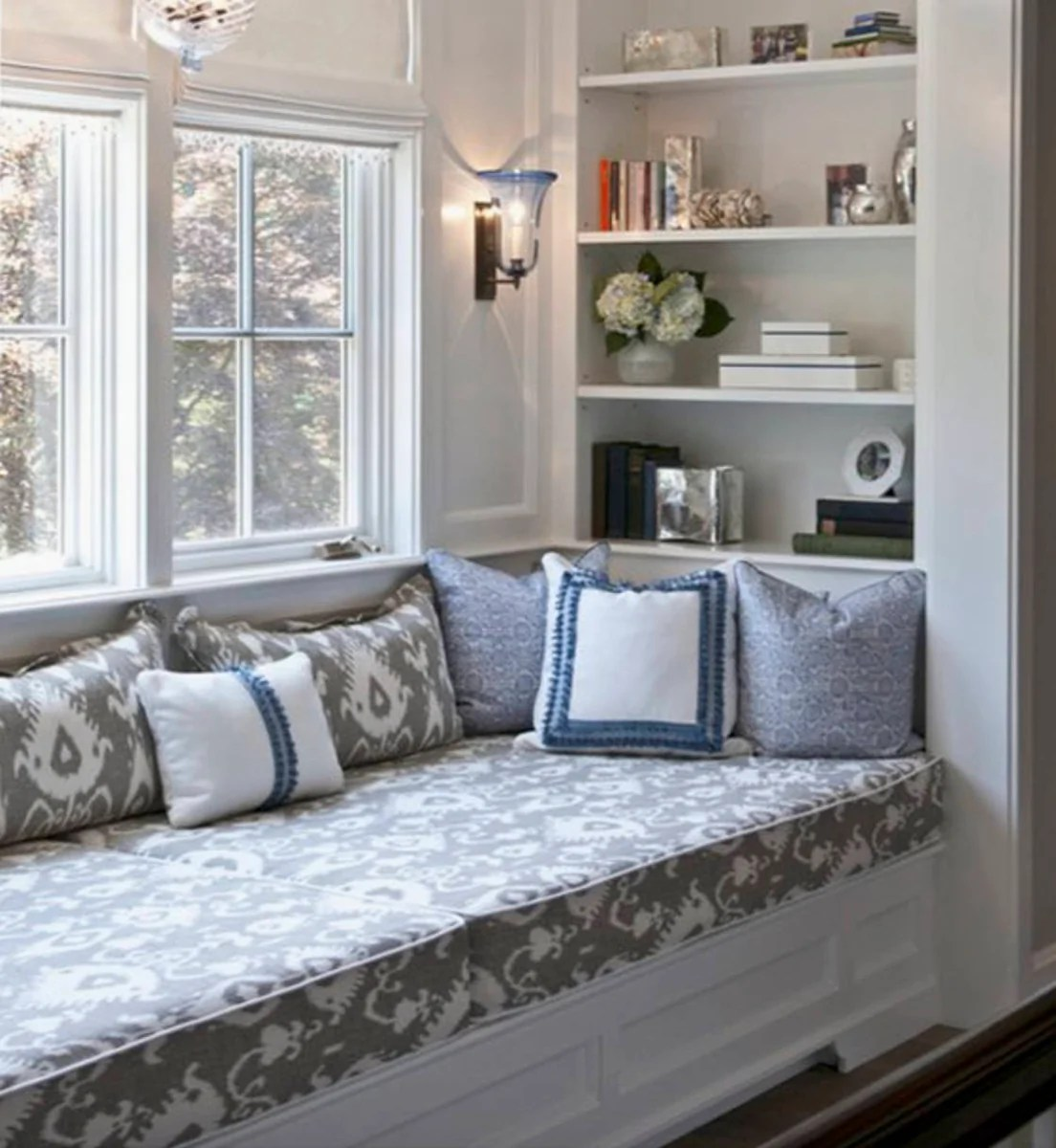 Window Seat Cover Bench Cushion Cover Custom Size Bench