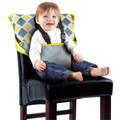 Cloth Portable High Chair Childs Wooden Rocking Cozy Cover Easy Seat Quick Convenient Travel