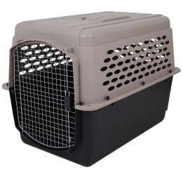 Petmate Vari Kennel Airline Approved Pet Carrier - Kohepets, to help dogs with anxiety calm down by isolating them.