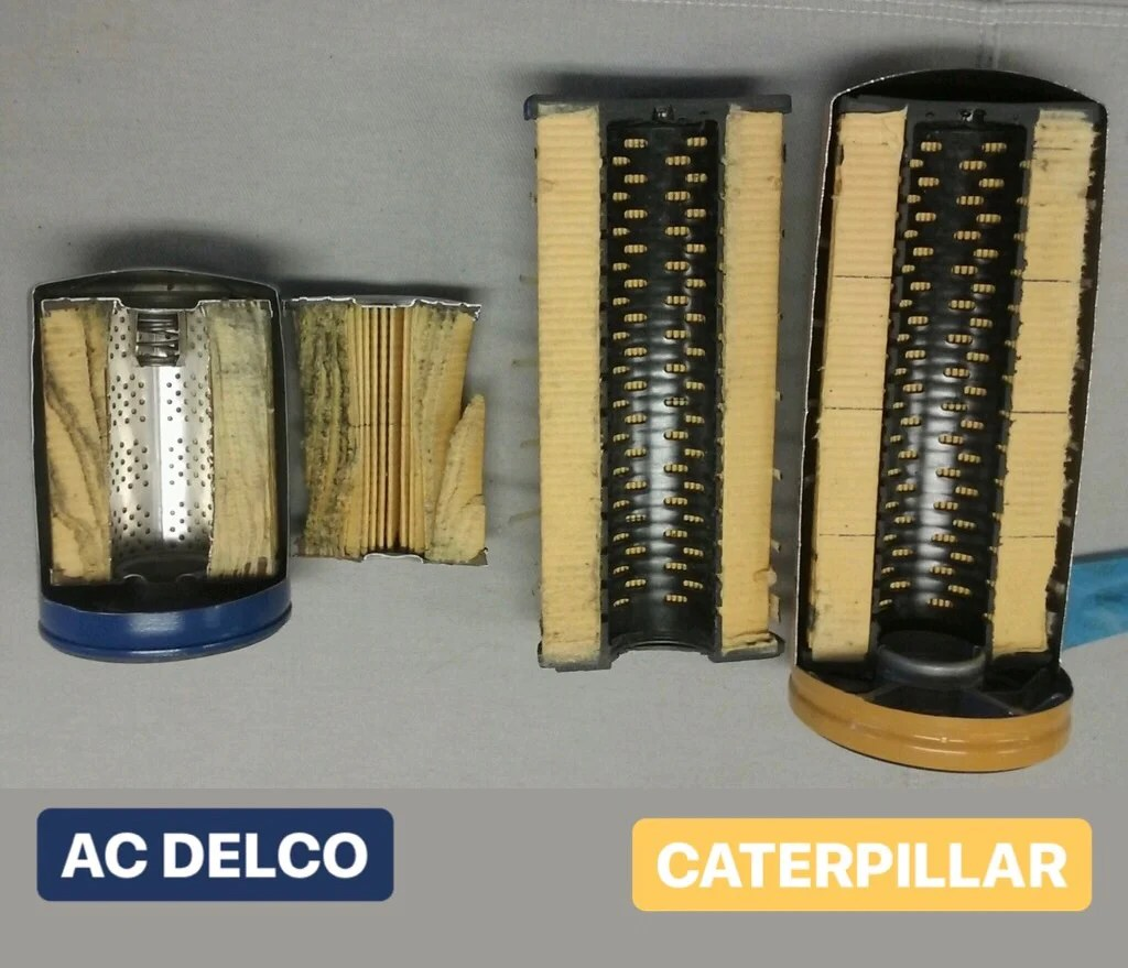 medium resolution of  duramax cat oil filter conversion kit