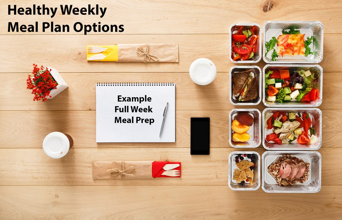 Delicious Healthy Weekly Meal Plan Options With A Full Week Sample Mea –  Mealplanmagic