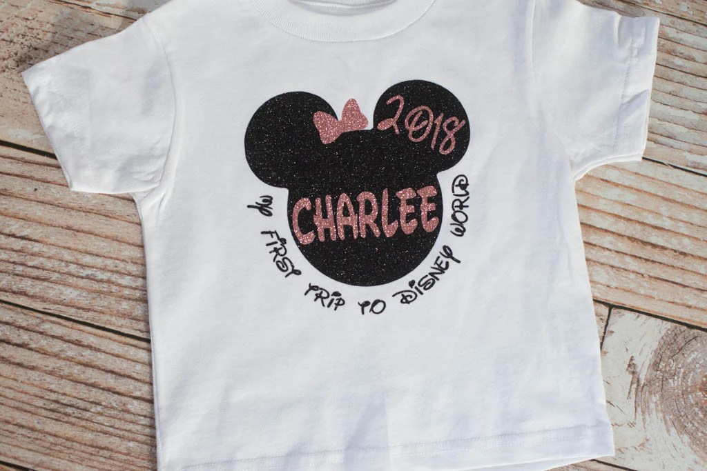 personalized toddler first trip