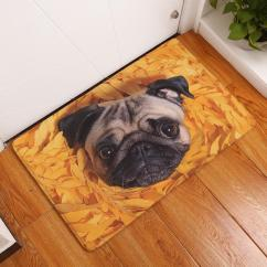 Kitchen Carpets L Type Small Design 2017 New Floor Mats Famous Food Bago Printed Bathroom Doormats Cat Mat For