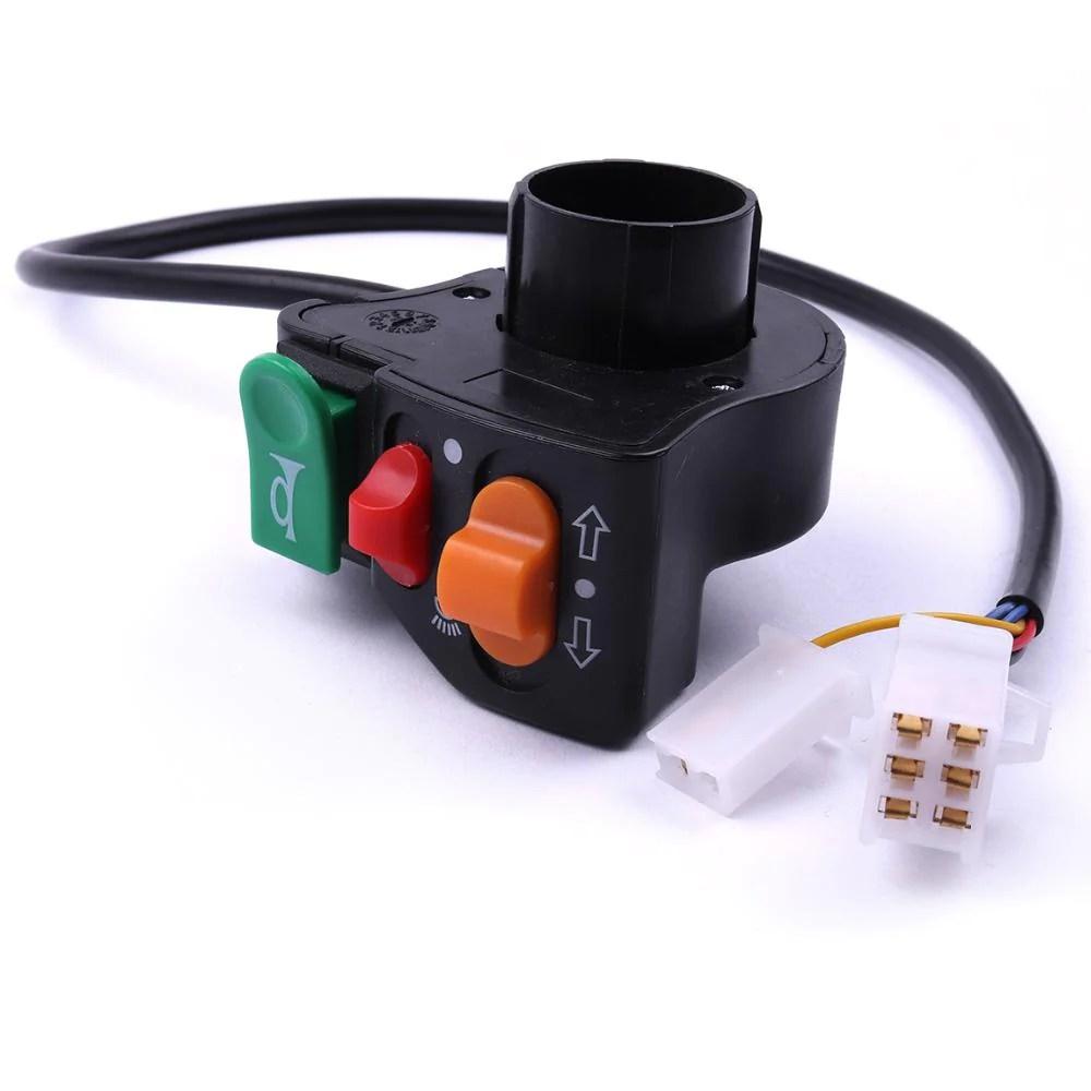 hight resolution of 2pcs turn signal horn switch headlight switch for 7 8 handlebars dirt bike