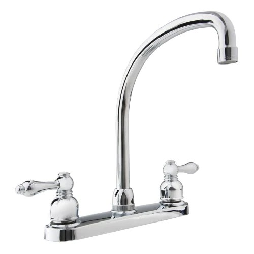 rv kitchen faucets large window treatments dura faucet df nmk330 cp hi arc chome polished