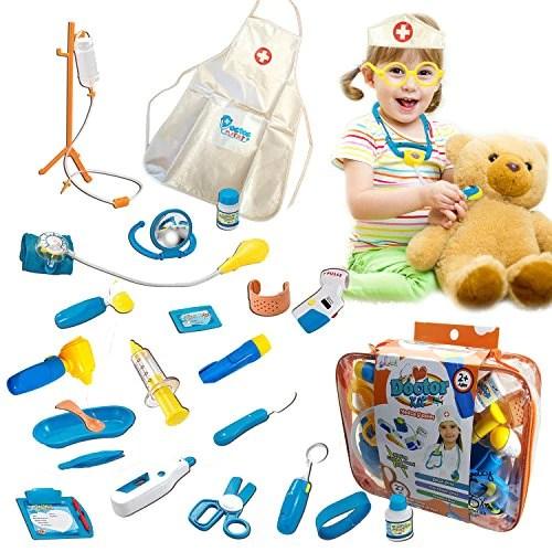 Skoolzy Toy Doctor Kit For Kids Hospital Pretend Play Set