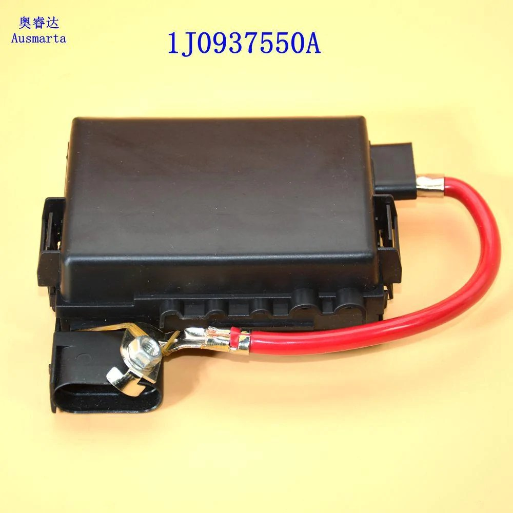 hight resolution of for 1999 2004 vw jetta bora golf mk4 black fuse box battery terminal 1j0937550a 1j0