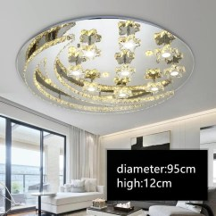 Ceiling Light Fixtures For Living Room Homemade Furniture Iwhd Led Lamp Modern Bedroom Lampara Techo Stainless Steel