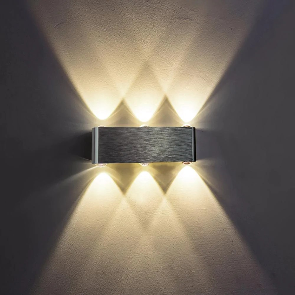 wall fixtures for living room floor jjd led lamp modern sconce stair light fixture bedroom bed bedside indoor lighting