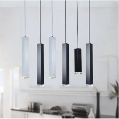 Kitchen Lamp How Much Is A Remodel Lukloy Pendant Lights Modern Dining Room Bar Counter Shop Pipe Light
