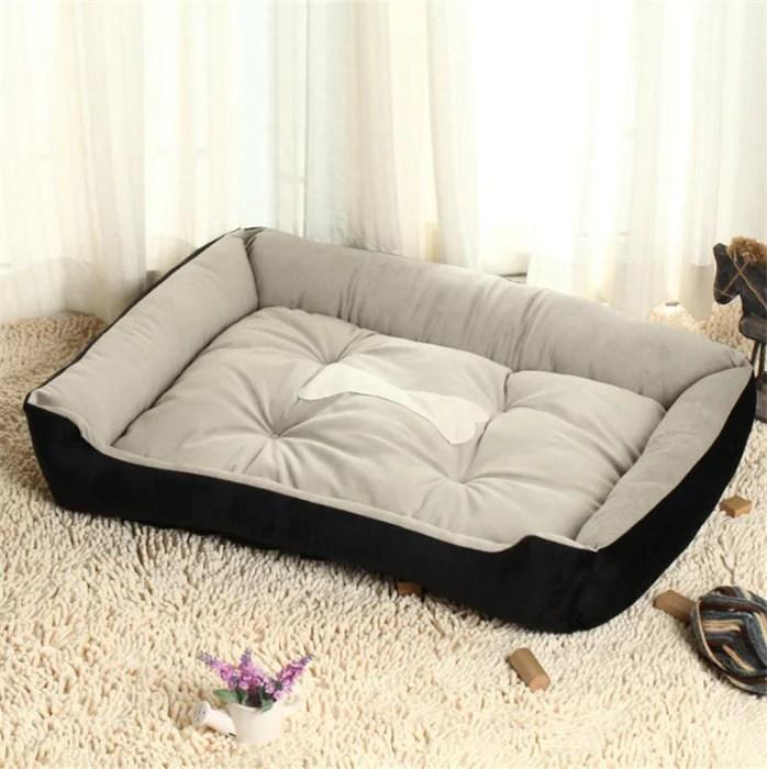 soft sofa dog bed microfiber fabric sets suit for 0 30kg pets 6 size home pet