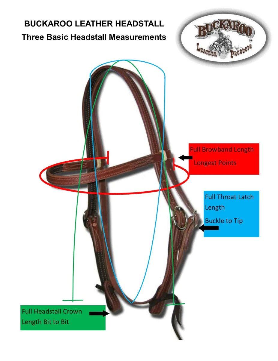 headstall and bitless bridle sidepull sizing diagrams buckaroo leather products [ 927 x 1200 Pixel ]