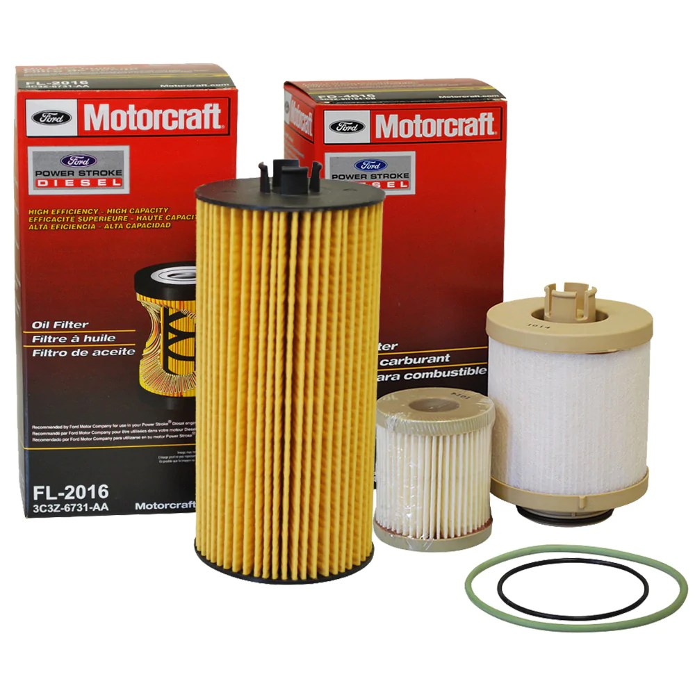 medium resolution of this item 6 0 powerstroke oil fuel filter kit