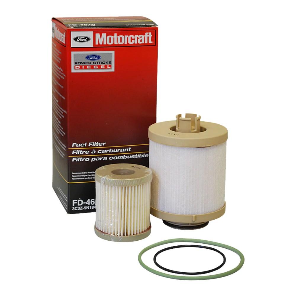 medium resolution of fd 4616 6 0 powerstroke fuel filter kit