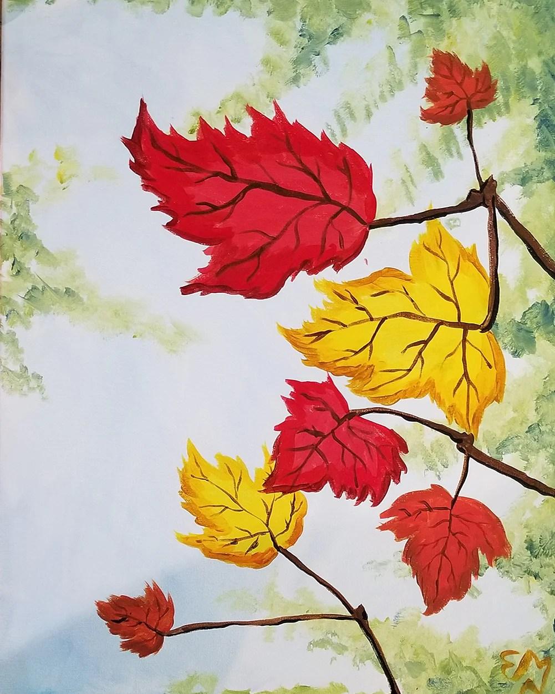 Foliage Painting : foliage, painting, Foliage, Paint, Night, Essex