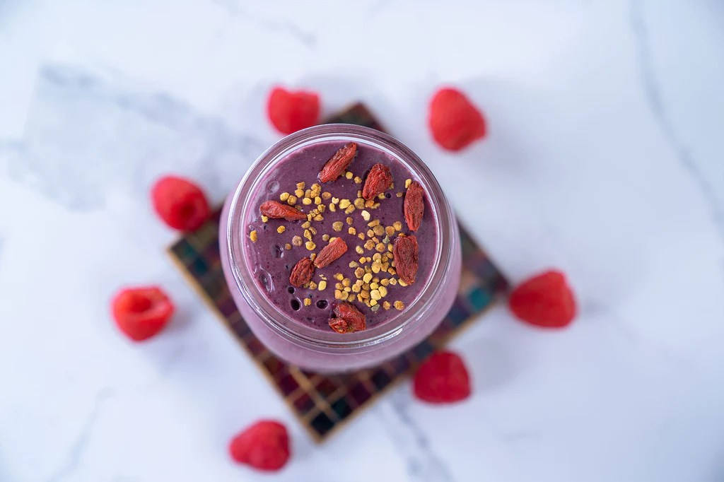 antioxidant berry radical smoothie