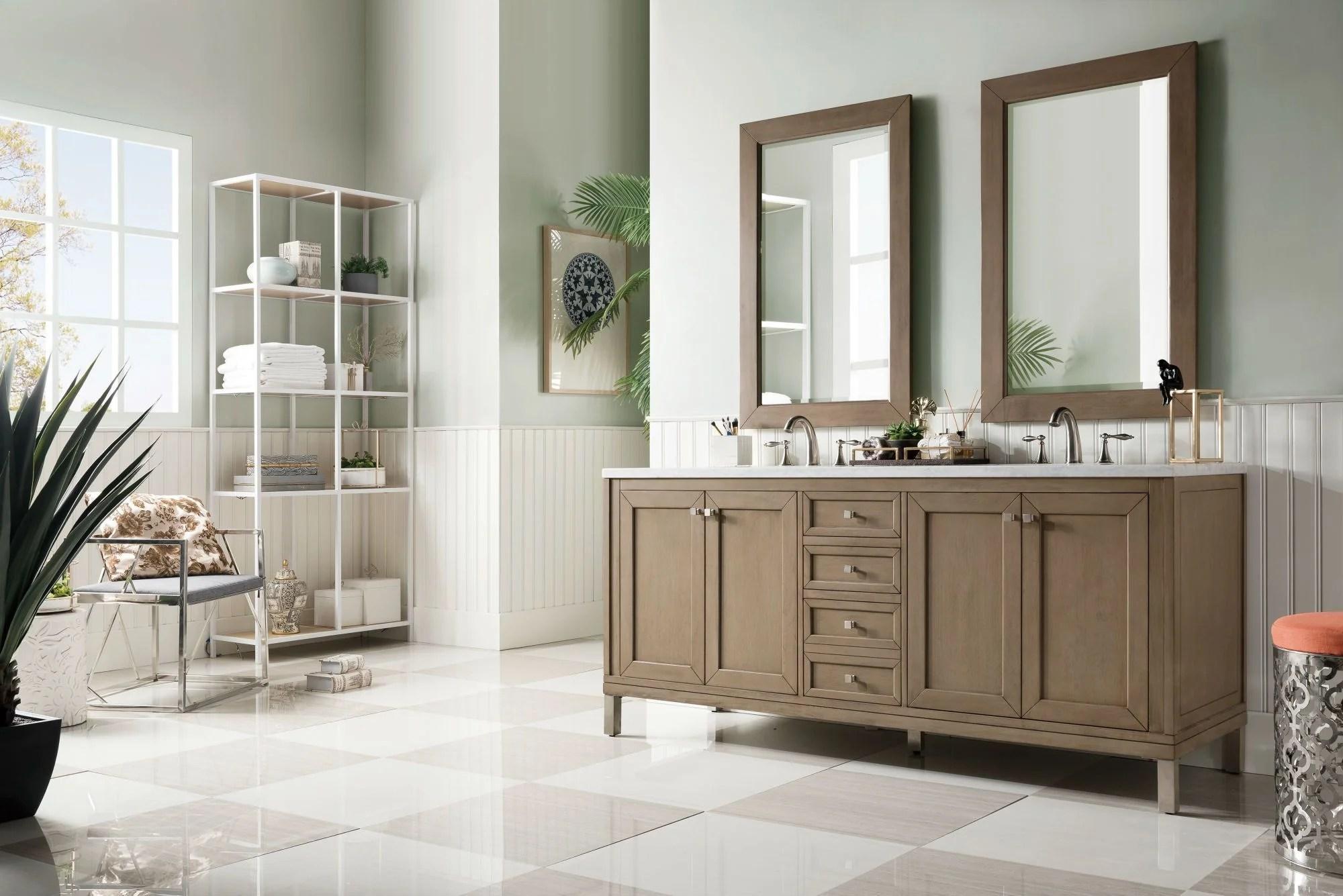 Chicago 72 Double Bathroom Vanity