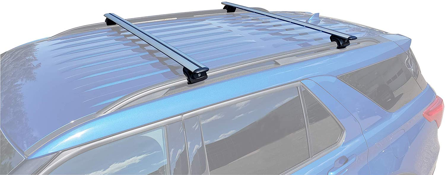 brightlines roof rack crossbars compatible with ford explorer 2020 2021