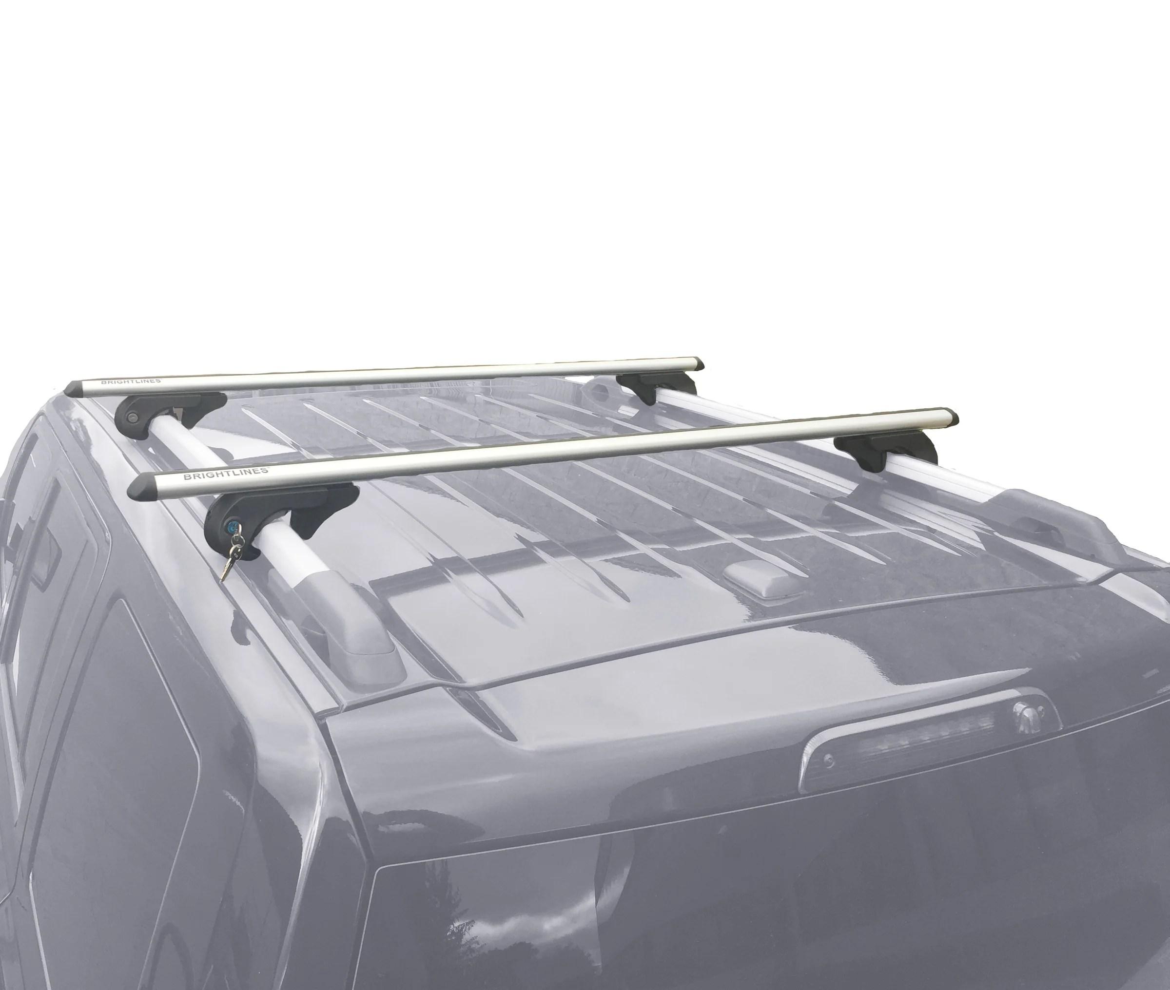 medium resolution of brightlines hyundai tucson roof rack crossbars 2004 2015 asg auto sports