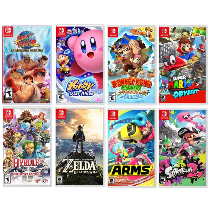 Top 10 Best Nintendo Switch Games Of 2018 Game Over Box