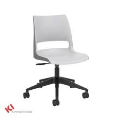 Ki Strive Chair Quartz Folding Four Leg Stacking Naugler Office Interiors Doni Armless Task