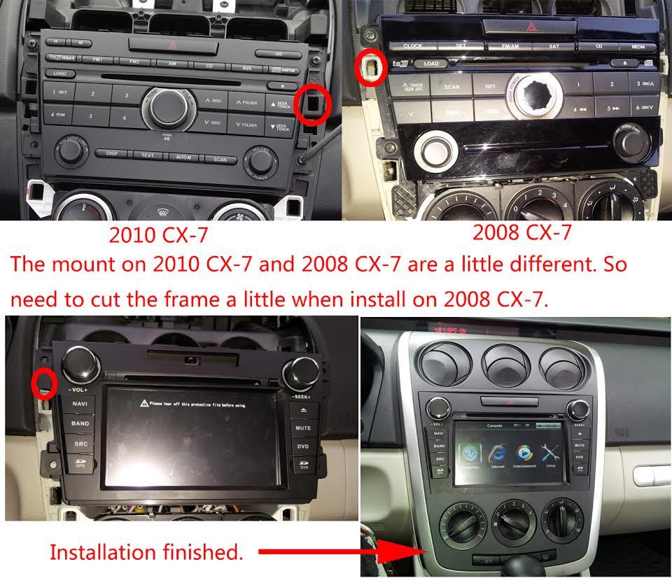 hight resolution of 2008 mazda cx 7