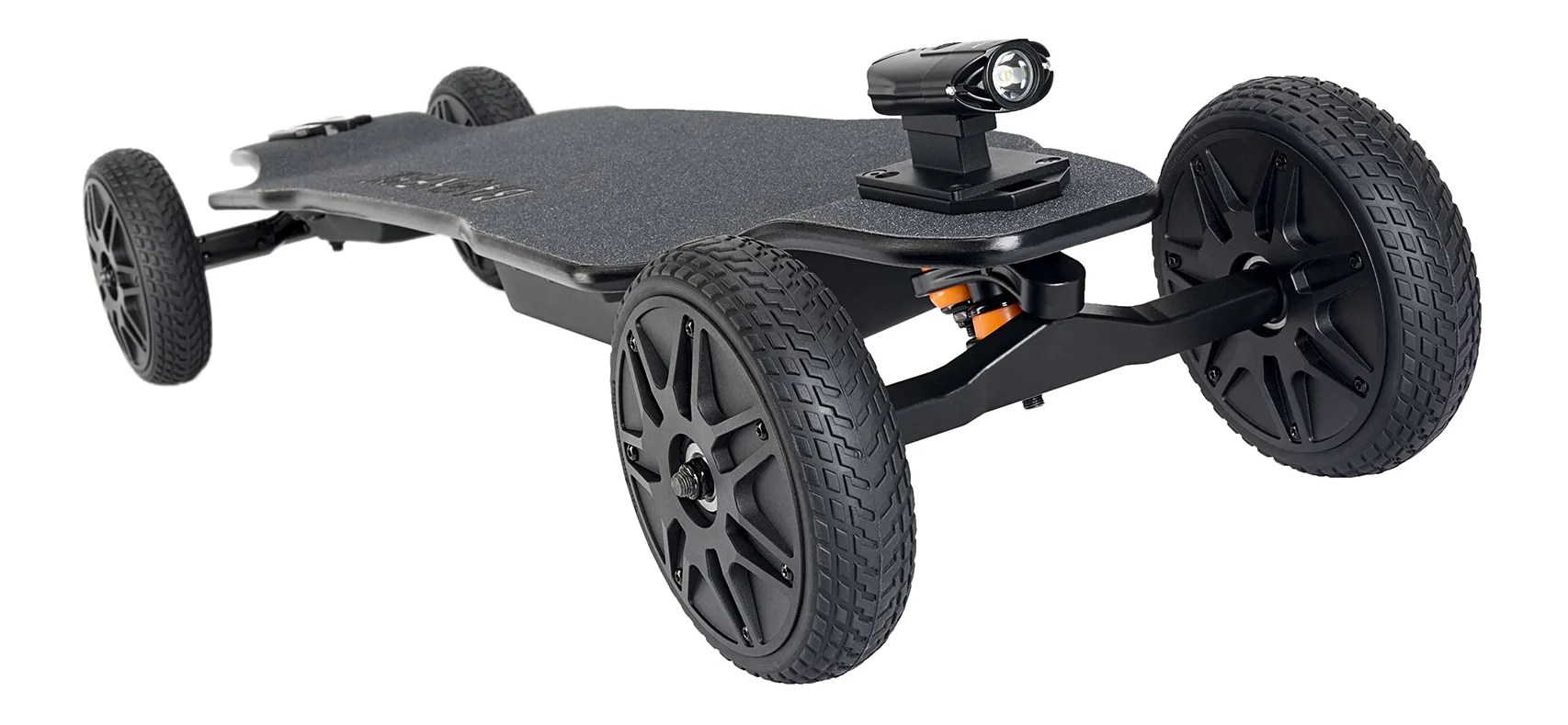 Backfire Ranger X1 All Terrain Electric Skateboard with R2 Wireless Remote (OLED Display) and 2.5a Faster Charger with 180 Days Warranty ...