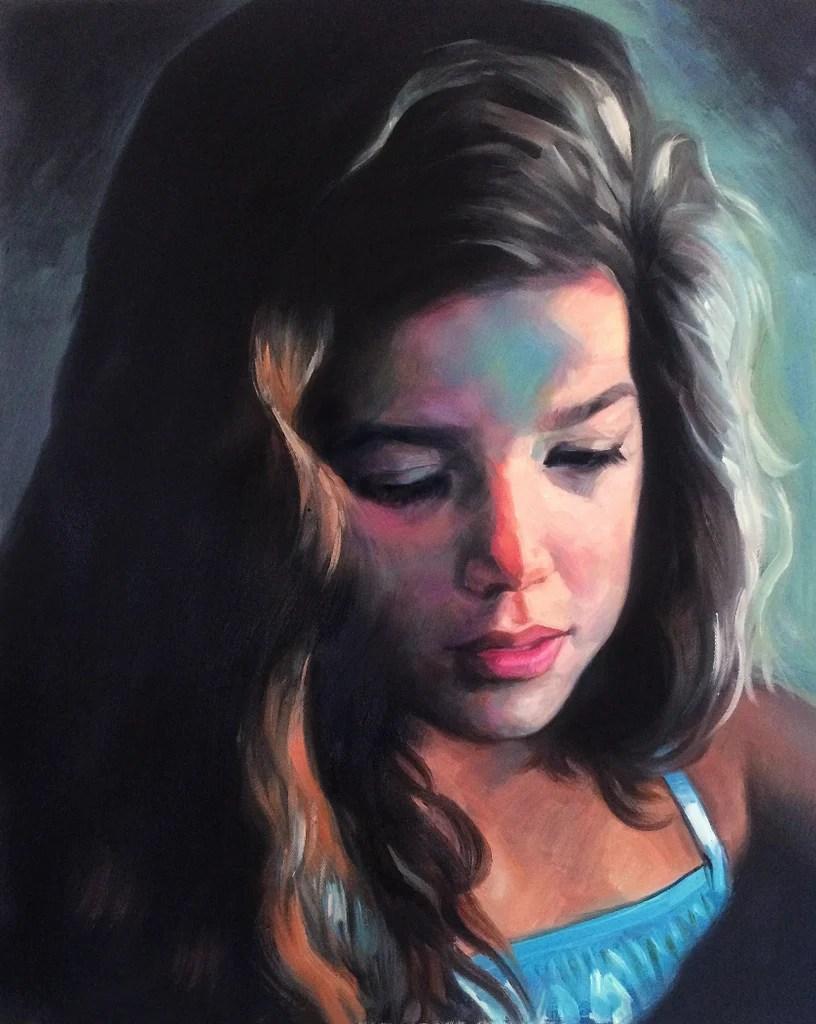 medium custom oil paintings