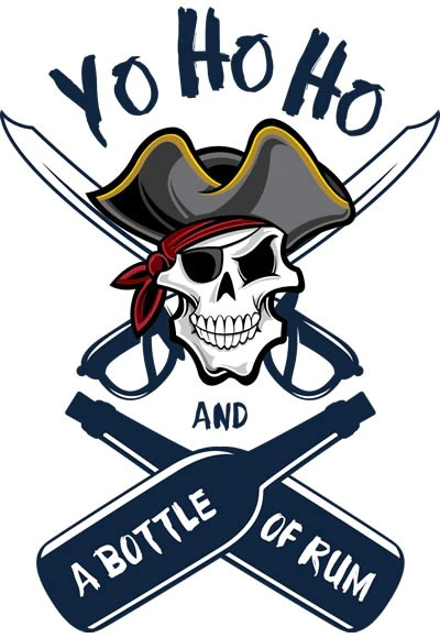 Yo Ho Ho And A Bottle Of Rum : bottle, Bottle, Nautical, Gifts,, Free,, Custom,, Cleat,, Cleat