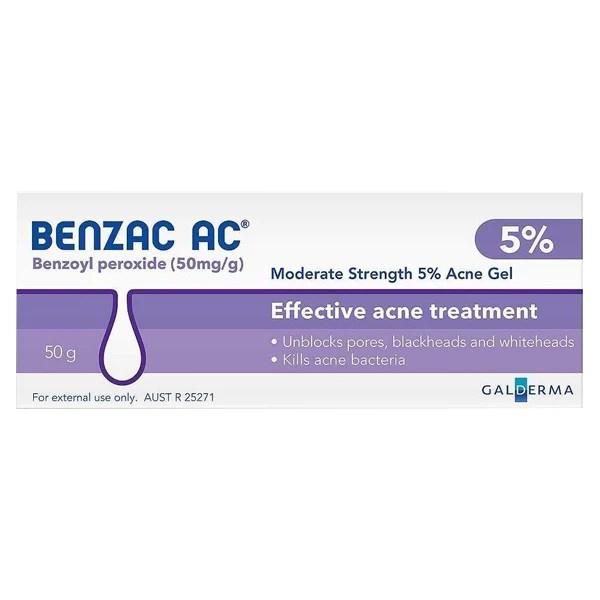 Benzac AC Acne Gel 50g - OnlineChemist