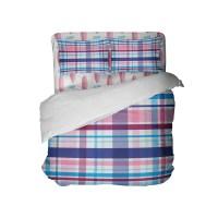Preppy Surfer Girl Plaid Comforter Set from Kids Bedding ...
