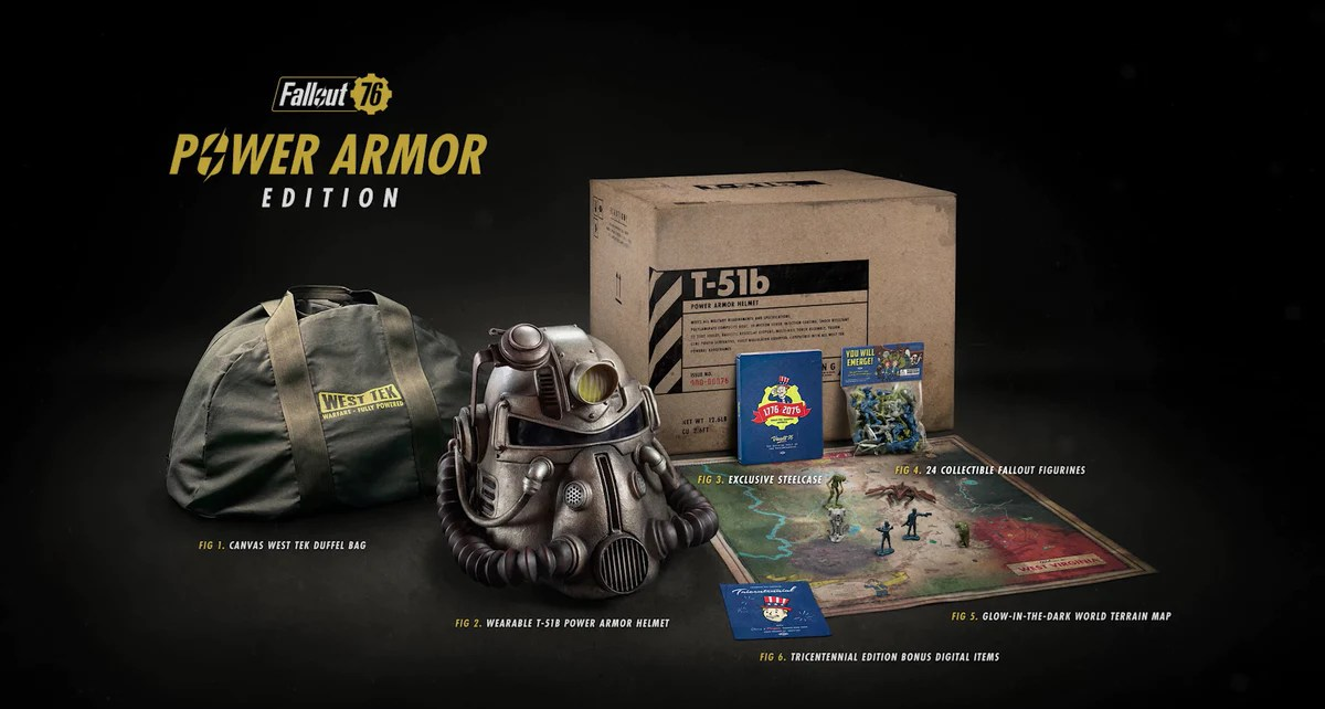 Fallout 76 Power Armor Edition The Official Bethesda Store