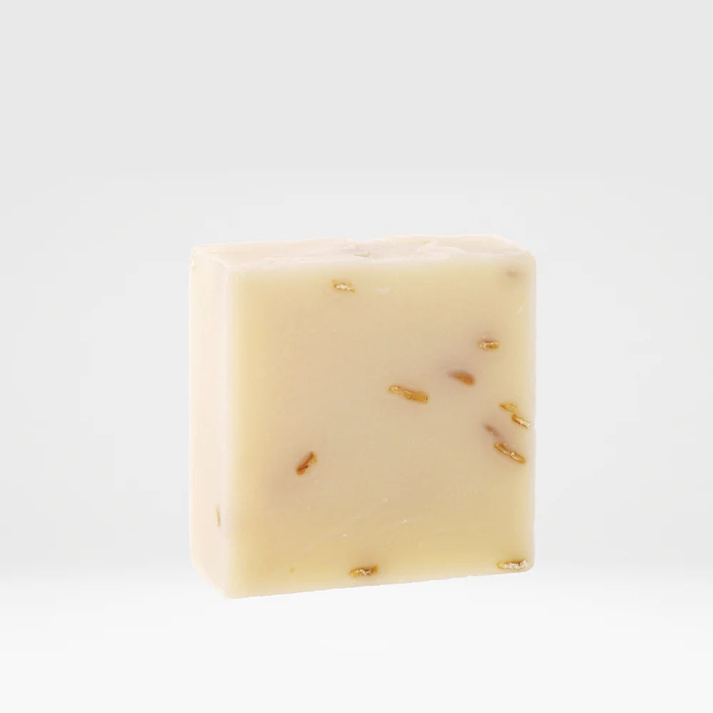 oatmeal lavender soap lather