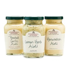 Stonewall Kitchen Com Table Rug Aioli Sauce Collection 3 Pack Mypanier