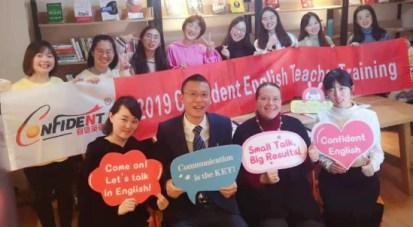 Training the Nanjing-based Confident English teachers