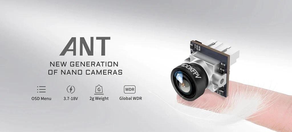 BETAFPV Caddx ant micro camera analog fpv camera