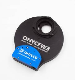 qhy fw3 slim 5 7 position filter wheel [ 1024 x 971 Pixel ]