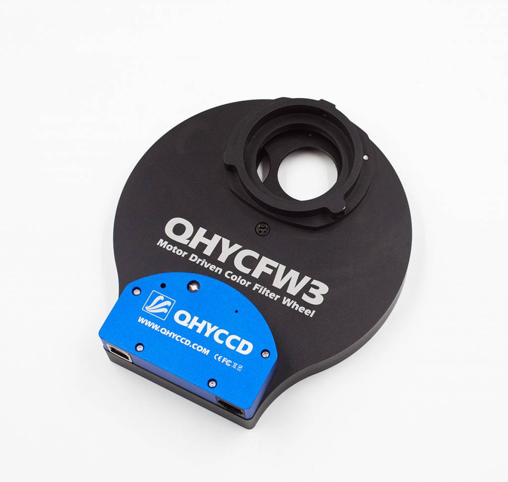hight resolution of qhy fw3 slim 5 7 position filter wheel