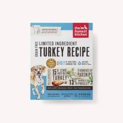 The Honest Kitchen Island Storage Limited Ingredient Turkey Recipe Dehydrated Dog Diet Food
