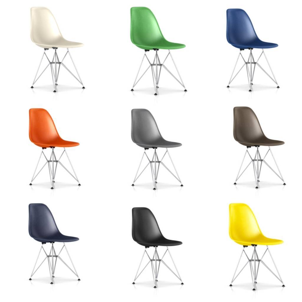 eames molded side chair leather and stool uk fiberglass sidechair wire base wilder herman miller