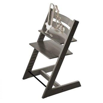 stokke chair harness swivel chairs jordans tripp trapp with 2018 hazy grey charlotte